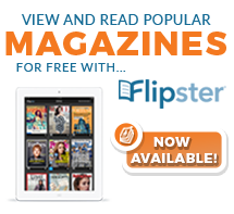 Access leading digital magazines on your mobile device with Flipster, the digital magazine newsstand from EBSCO - courtesy of your local library.