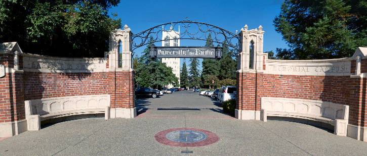 Entrance Gate at Pacific